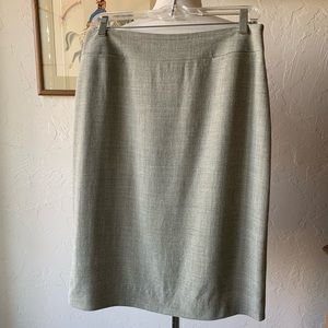 Ann Taylor Wool Pencil Skirt - 10
